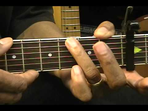 Guitar Close Up MGMT Style Am G Chord Transition & Lick Guitar Lesson