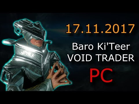 Warframe - Baro Ki'Teer (PC) - Primed Fever Strike  & Primed Regen