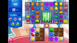 Candy crush saga level 875 No booster, 3 stars J