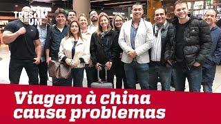 Viagem de deputados e senadores do PSL à China gera críticas