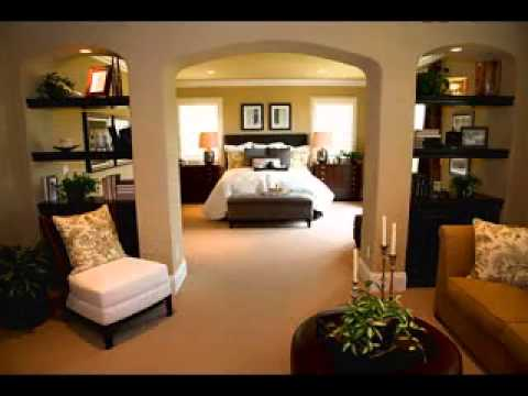 Big master bedroom design ideas youtube for Large bedroom ideas