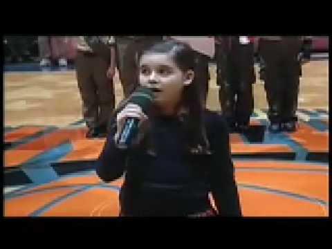 Carly Sonenclar National Anthem