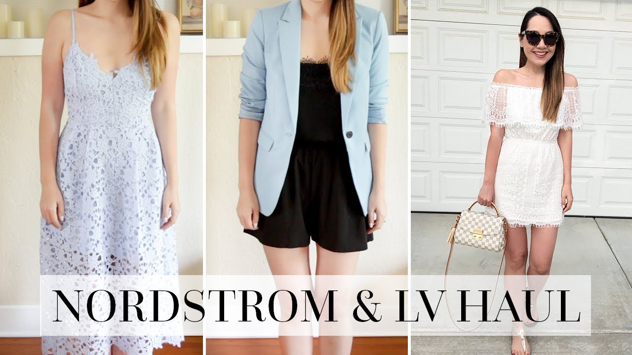 2492e90cb54c5 NORDSTROM   LOUIS VUITTON TRY ON HAUL! - YouTube