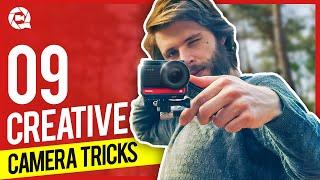 9 Creative CAMERA TRICKS (Insta 360)