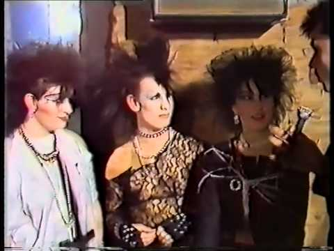 THE HEIGHT OF GOTH: 1984: A Night at the Xclusiv Nightclub: Batley, West Yorkshire UK