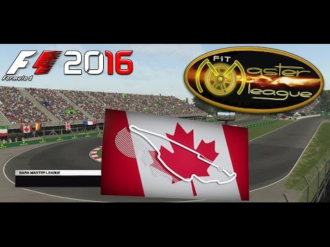 Master League F1 2016 GP Canada Montreal 08.12.16