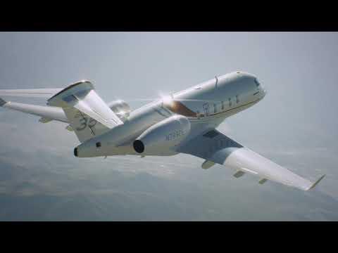 Performance record depuis l'aéroport de Gstaad pour l'avion Challenger 350