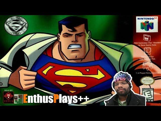GameEnthus Crew Plays: Superman64 - EnthusPlays++  #Superman64 #Retrotink