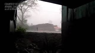 Typhoon Ompong   Situation in Aparri as of 6:00 AM