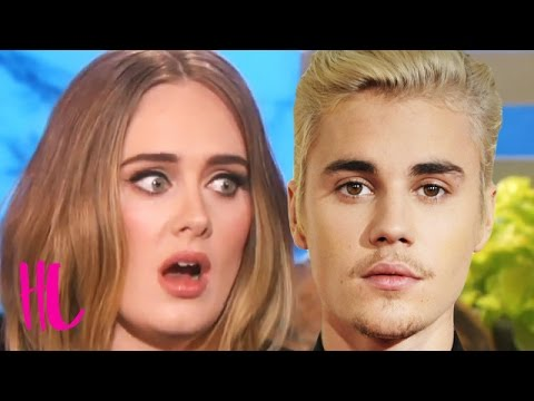 Adele Reveals If Justin Bieber Ruined Her Grammys Performance - VIDEO