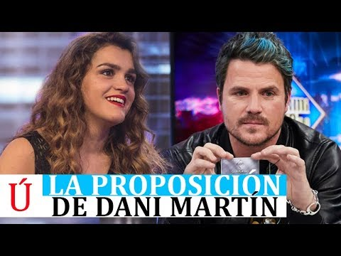 La proposición de Dani Martín a Amaia Romero antes de la Eurovision ES Preparty - Operación Triunfo