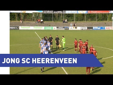 Samenvatting Jong sc Heerenveen - Jong RKC Waalwijk