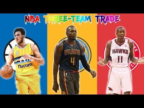 NBA THREE-TEAM TRADE! CLIPPERS, HAWKS, NUGGETS