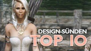 Die 10 schlimmsten Design-Sünden in Videospielen