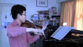 ABRSM violin grade 6 2012-15 C2 Irish Idyll