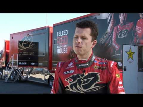 06142012 - HRT's Garth Tander and SCAR's Russell Ingall talk Darwin