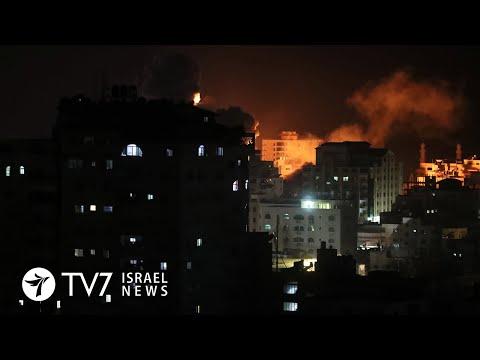 Gaza Rocket Fire Draws Israeli Attack; Iran Threatens World With Turmoil - TV7 Israel News 23.10.20