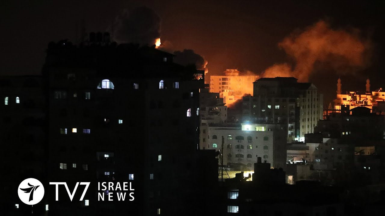 Gaza rocket fire draws Israeli attack; Iran threatens world with turmoil - TV7 Israel News 23.10.20