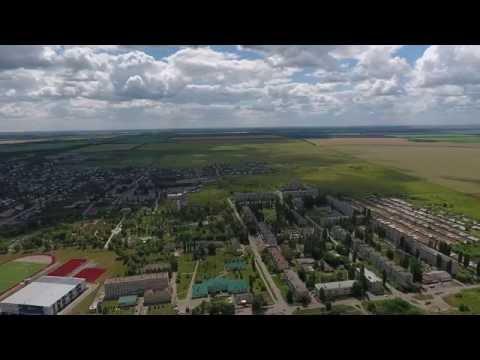 Поворино, (Воронежская область) с воздуха
