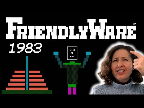 Mum Tries Out Friendlyware (1983) on PC-DOS 2.0 (1983) thumbnail