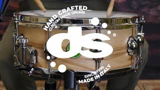 """All Olive Ash 14""""X5.5"""" Mother Nature Snare drum by DS Drum (Sound Examples)"""