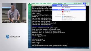 The Wonderful World of Scientific Computing with Python | SciPy 2014 | David Sanders