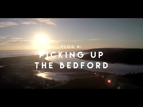 How to Make a Travel Show: VLOG 4 - Picking up the Bedford