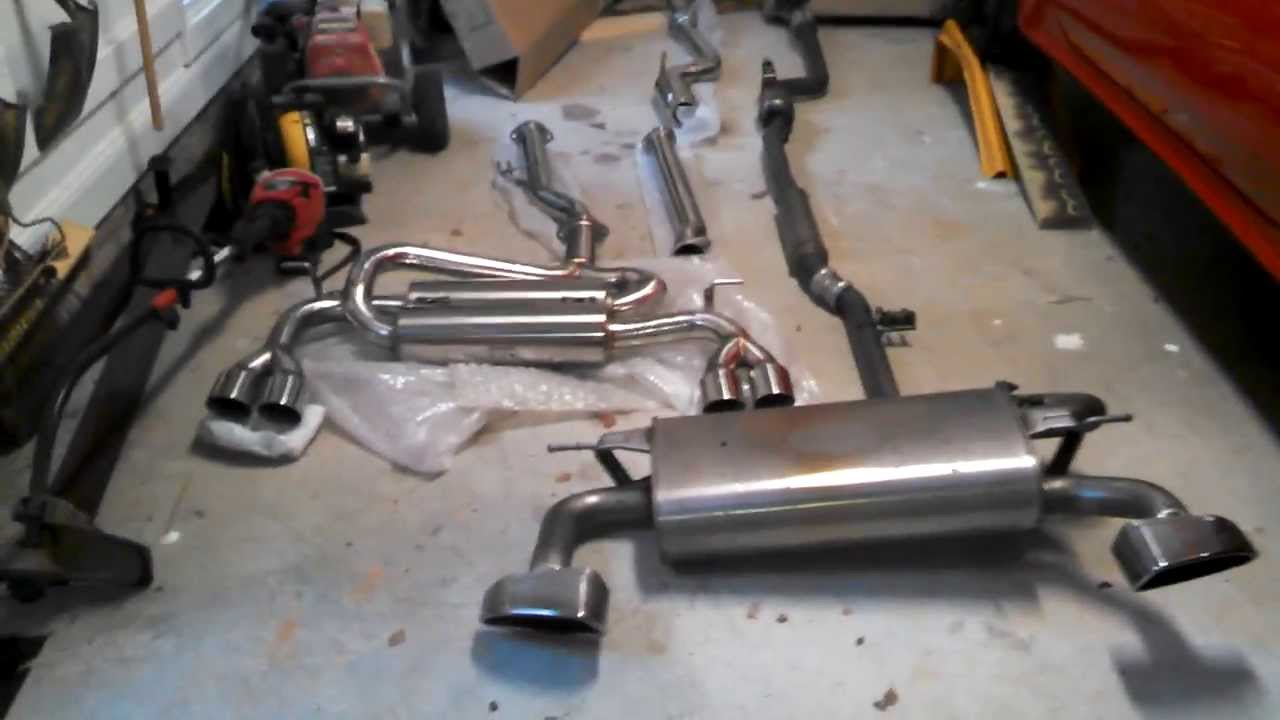 Genesis Coupe Tsudo Exhaust Vs Stock Exhaust Youtube