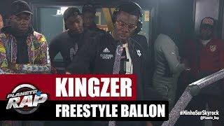 Kingzer - Freestyle Ballon #PlanèteRap