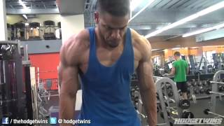 TMW  Hodgetwins Chest & Arms Workout