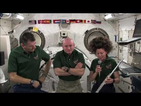 A Flute on the Space Station