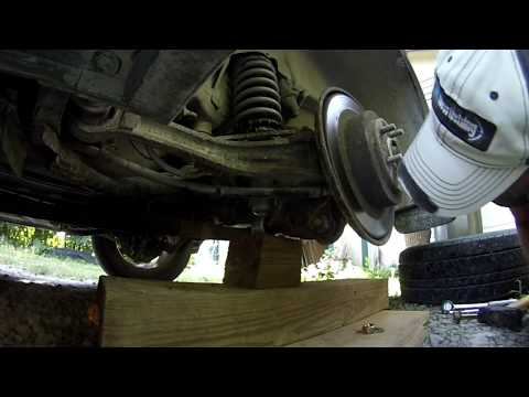 2003 Subaru Outback DIY Rear Strut Replacement