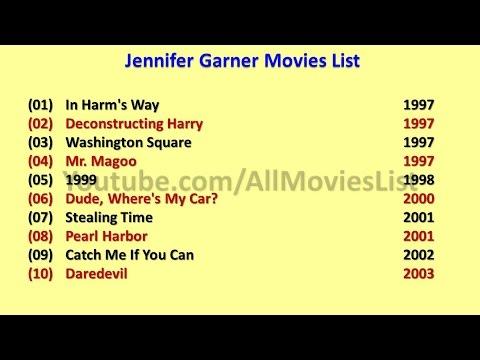 jennifer garner movies list youtube
