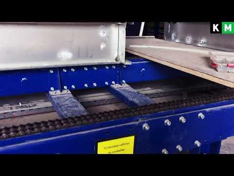видео: Конвейерная линия сборки сантехкабин