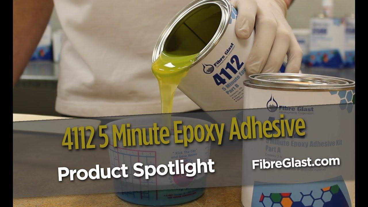 4112 5 Minute Epoxy Adhesive