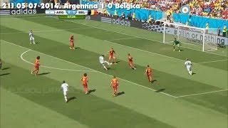 Todos los goles de Gonzalo Higuaín con la Selección Argentina