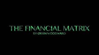 The Financial Matrix Book Trailer