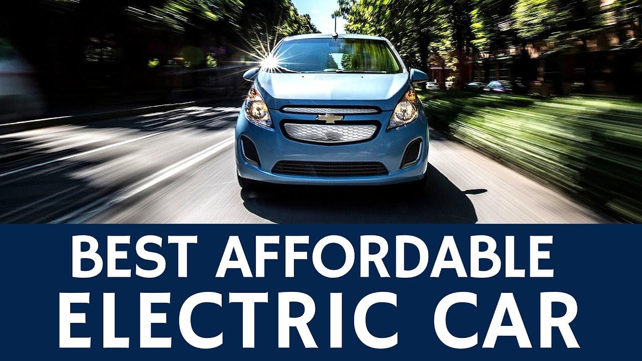 Best of Affordable Electric Cars Chevrolet Spark EV