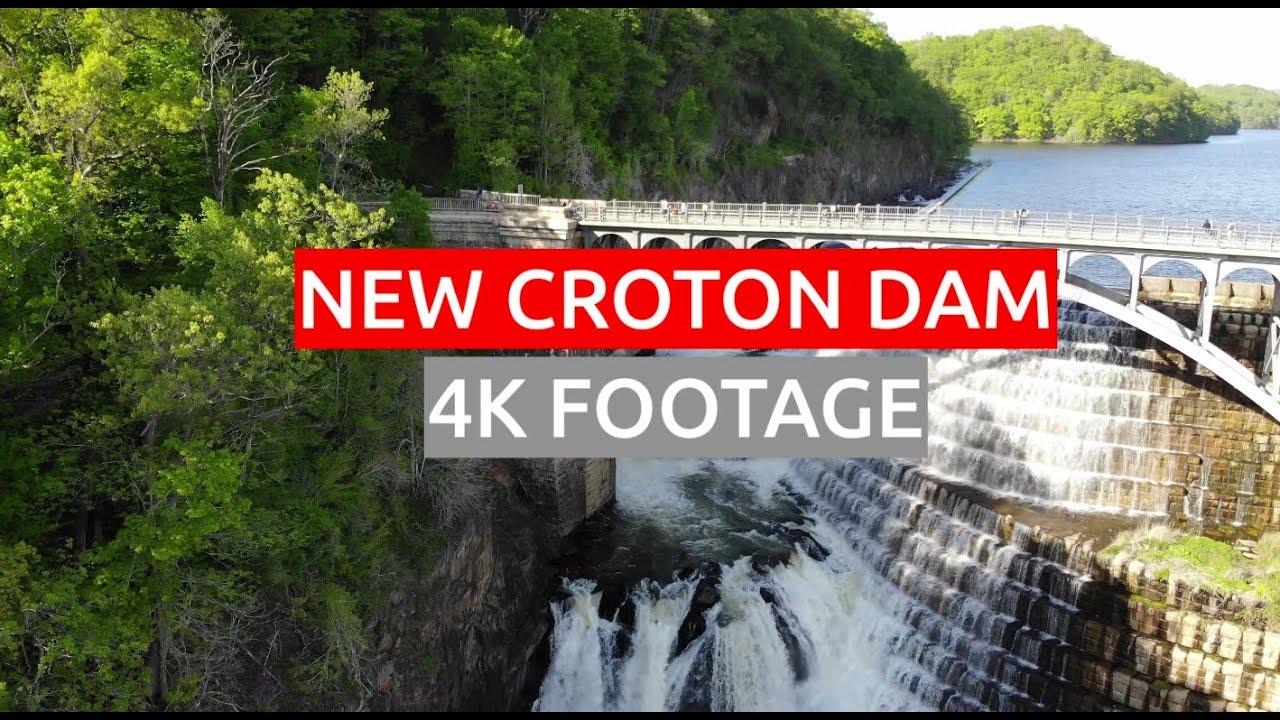 NEW CROTON DAM. 4K DRONE FOOTAGE /// NICKITA TIKHONOV