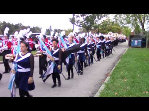 Thomas Worthington High School Band Homecoming 2017