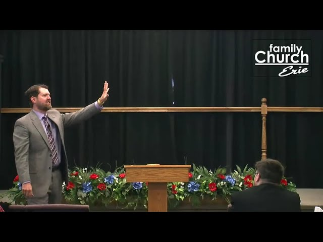 How to Keep Yourself Under the Blessing Part II   Pastor Tim Stahlman / Family Church Erie