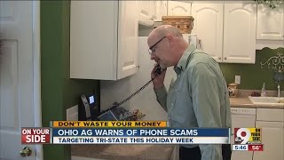 Ohio attorney general warns of top 3 phone scams