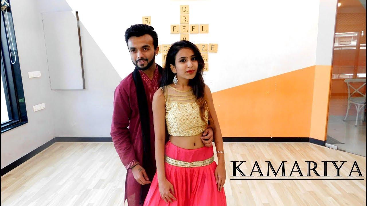 Kamariya – Mitron | Navratri Garba Dance | Tejas Parekh Ft. Nidhi Rajpal | Thegoldenfeet