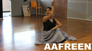 AAFREEN/ SOFT FEEL CHOREOGRPHY/ CONTEMP STYLE/ RITU'S DANCE STUDIO SURAT.