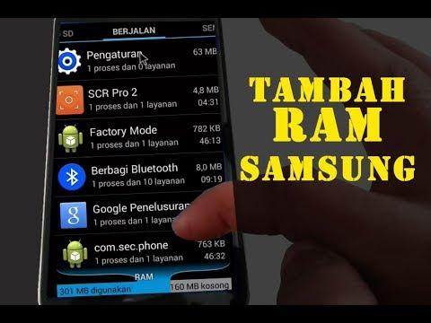 Cara Menambah RAM Samsung 100% Work