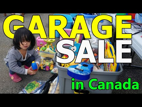 We Found A Very Good Deals In Garage Sale In Canada