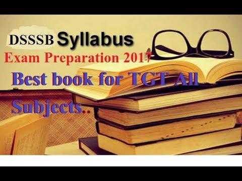 DSSSB TGT 2017 Syllabus and Best Booklist for Preparation