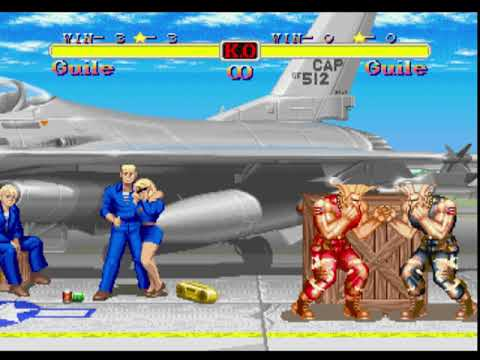 Music Super Street Fighter 2 Turbo Guile Stage And Music Slow