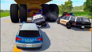 мультики про машинки - Полицейские автомобили и ПДД.