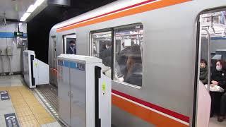 【発車】高田馬場駅を東葉高速鉄道2000系中野行きが発車 ミニ90